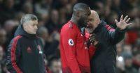 Romelu Lukaku Mike Phelan Manchester United