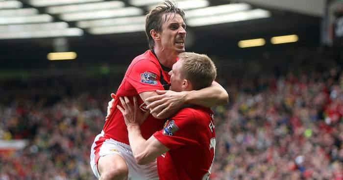 Gary Neville Manchester United