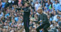 Pep Guardiola Mauricio Pochettino Manchester City Tottenham