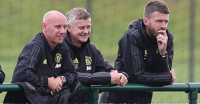 Nicky Butt Ole Gunnar Solskjaer Michael Carrick Manchester United