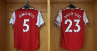 Sokratis David Luiz Arsenal