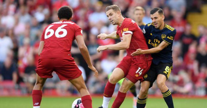 Jordan Henderson Liverpool Arsenal