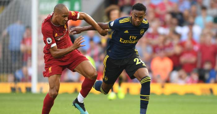 Fabinho Liverpool Arsenal