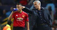 Alexis Sanchez Jose Mourinho Manchester United