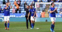 Jamie Vardy Brendan Rodgers Leicester City