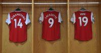 Pierre Emerick-Aubameyang Nicolas Pepe Alexandre Lacazette Arsenal