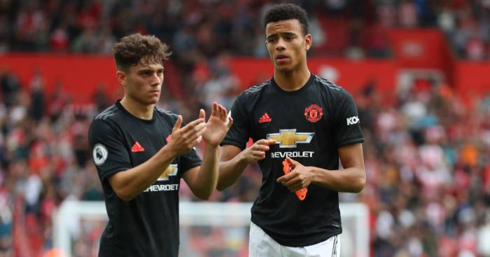 Daniel James Mason Greenwood Manchester United