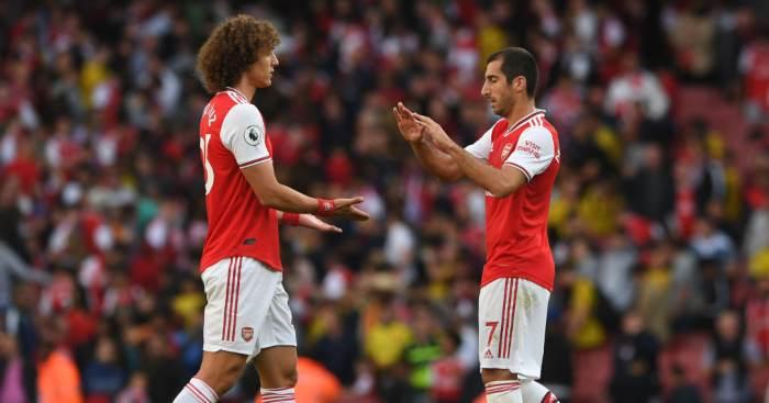 Henrikh Mkhitaryan David Luiz Arsenal