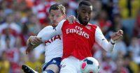 Jan Vertonghen Alexandre Lacazette Tottenham Arsenal