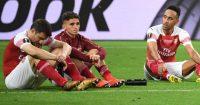 Arsenal players Europa League final