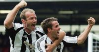 Newcastle United Alan Shearer Michael Owen