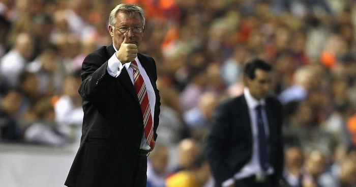 Unai Emery Sir Alex Ferguson