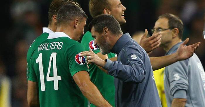 Roy Keane Jonathan Walters Republic of Ireland