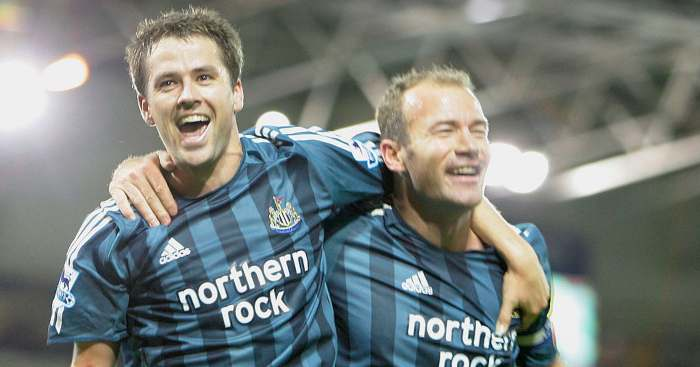 Michael Owen Alan Shearer Newcastle United