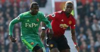 Abdoulaye Doucoure Watford Paul Pogba Manchester United