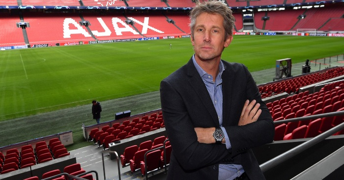 Edwin van der Sar Ajax Man Utd
