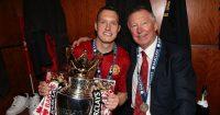 Sir Alex Ferguson Phil Jones Manchester United
