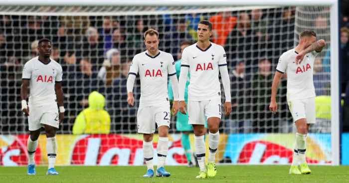 Tottenham players Bayern Munich