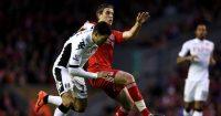 Jordan Henderson Clint Dempsey Liverpool Fulham