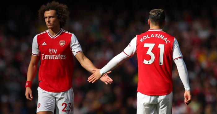 David Luiz Sead Kolasinac Arsenal