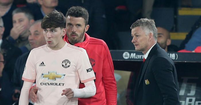 James Garner Manchester United