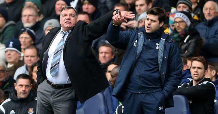 Mauricio Pochettino Sam Allardyce Tottenham