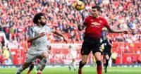 Mohamed Salah Victor Lindelof Manchester United