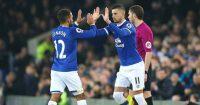 Kevin Mirallas Aaron Lennon Everton