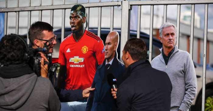 Paul Pogba Zinedine Zidane Manchester United