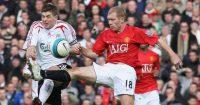 Paul Scholes Steven Gerrard Manchester United Liverpool