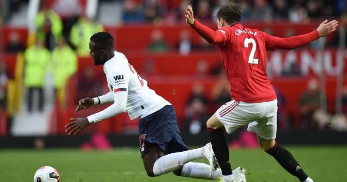 Divock Origi Victor Lindelof Manchester United Liverpool