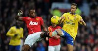 Patrice Evra Manchester United Arsenal