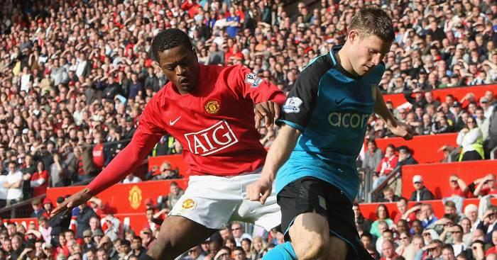 Patrice Evra Manchester United James Milner
