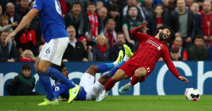 Mohamed Salah Hamza Choudhury Liverpool Leicester