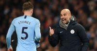 John Stones Pep Guardiola Manchester City