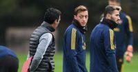 Unai Emery Mesut Ozil Arsenal