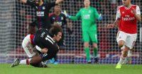 Matteo Guendouzi Wilfried Zaha Arsenal Crystal Palace