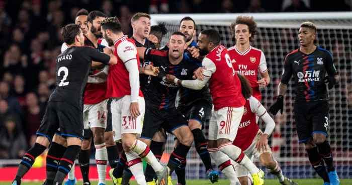 Gary Cahill Arsenal Crystal Palace