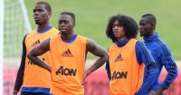 Paul Pogba Tahith Chong Manchester United