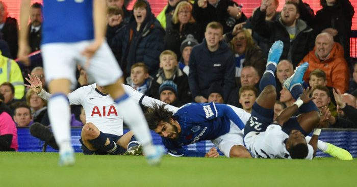 Andre Gomes Everton Tottenham