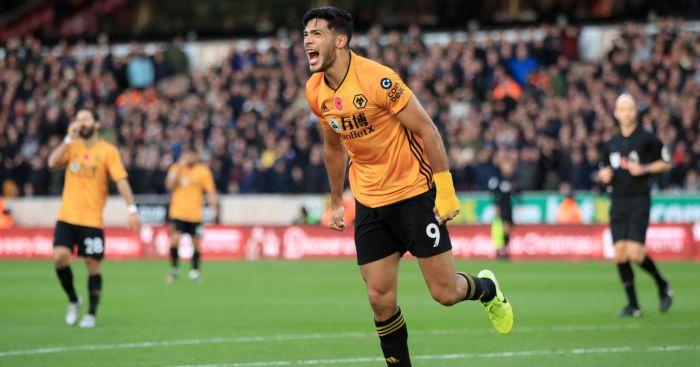 Raul Jimenez Wolves Aston Villa