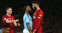 Raheem Sterling Joe Gomez Manchester City Liverpool