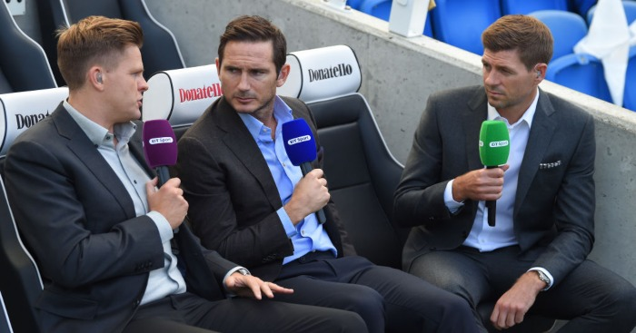 Frank Lampard Steven Gerrard