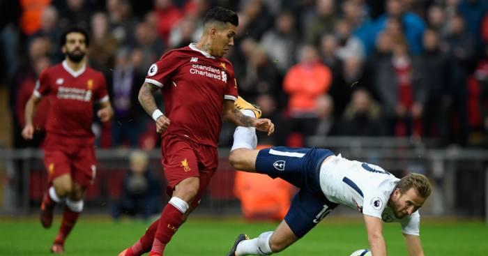 Harry Kane Roberto Firmino Liverpool Tottenham