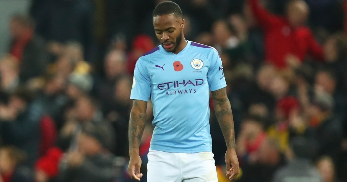 Raheem Sterling Man City Man Utd
