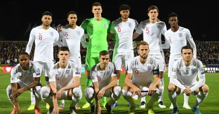 England players Kosovo