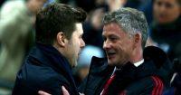 Mauricio Pochettino Ole Gunnar Solskjaer Manchester United Tottenham