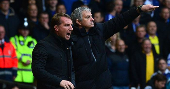 Brendan Rodgers Jose Mourinho