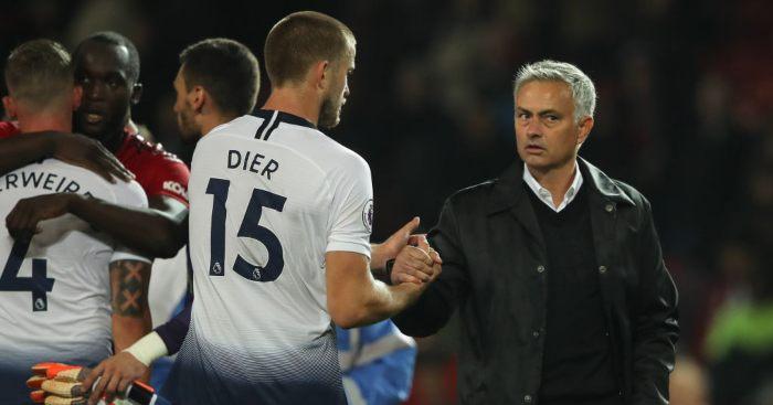 Eric Dier Jose Mourinho Tottenham