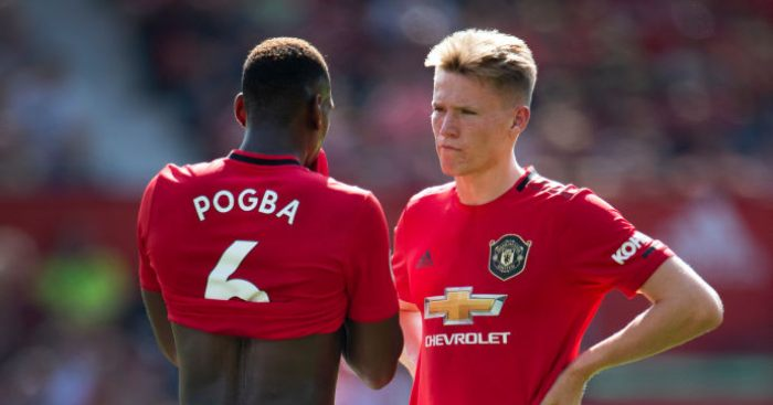 Paul Pogba Scott McTominay Manchester United